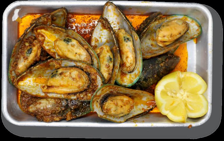 Cajun Green Mussels